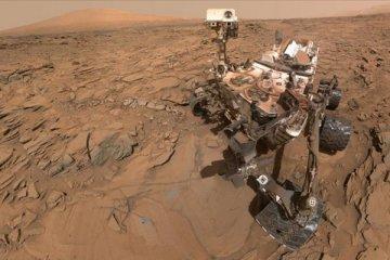 Mars'a inen helikopterden ilk fotoğraf