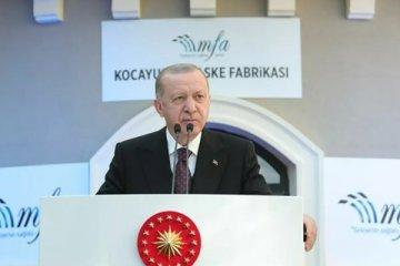 Erdoğan: 31 bin sanatçıya 250 milyon liraya varan destek vereceğiz