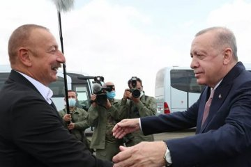 Cumhurbaşkanı Erdoğan, Şuşa'da