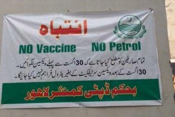 Aşı olmayan benzin alamayacak