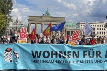 Almanya'da artan konut fiyatları büyük tepki çekti