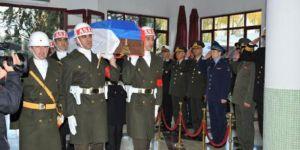 Rus pilota Ankara'da askeri tören