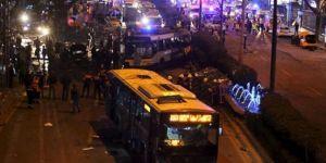 Saldırıdan sonra Kızılay trafiğe kapalı