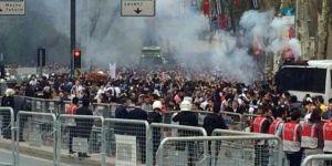 Beşiktaş taraftarına biber gazlı müdahale