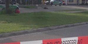 Almanya'da tekbirli saldırı 1 ölü