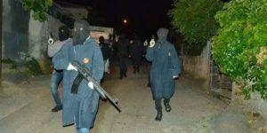İstanbul'un göbeğinde silahlı gövde gösterisi