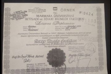 Erdoğan'ın diplomasındaki 12 çelişki
