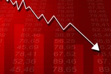 Borsada haftalık kayıp yüzde 13.4 oldu