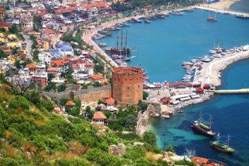 Antalya'da yabancıya konut satışları yüzde 27 arttı