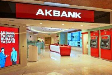 Akbank'tan 2017'de 6 milyar 20 milyon lira net kar