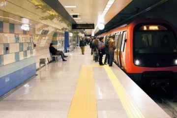 Hacıosman - Yenikapı metrosunda sürücüsüz araçlar raylarda