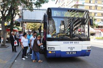 Ankara'da ulaşım 2 gün ücretsiz