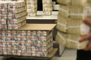 Hazine 1,2 milyar lira borçlandı