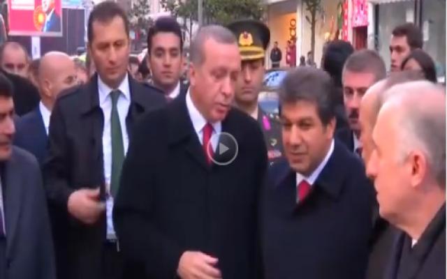 Erdoğan kafede sigara içenlere kızdı