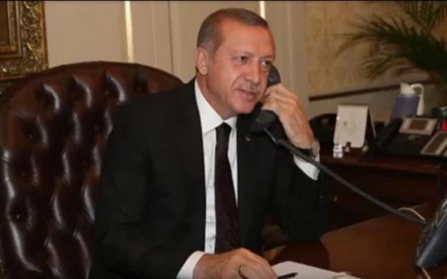 Ruslar Erdoğan'ı telefonda işletti