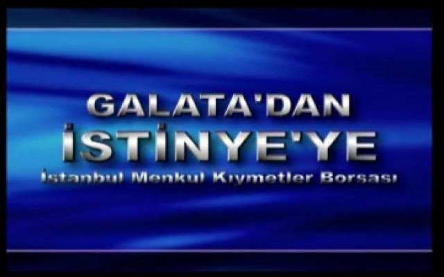 Galata'dan İstinye'ye Türkiye'de borsa